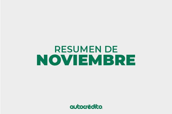 ¡Estas son las novedades de noviembre!